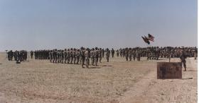 Soldiers stationed in Safwan, Iraq