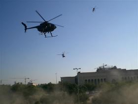 Blackwater helicopters in Iraq