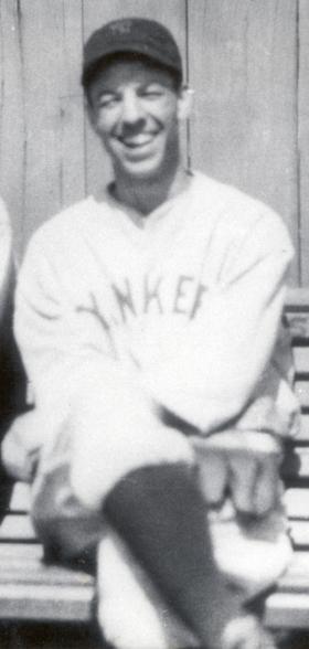 Bill Werber in his Yankee uniform