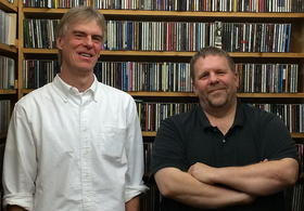 Freddy Jenkins (left) and Keith Weston host Back Porch Music Friday, Saturday and Sunday nights on WUNC