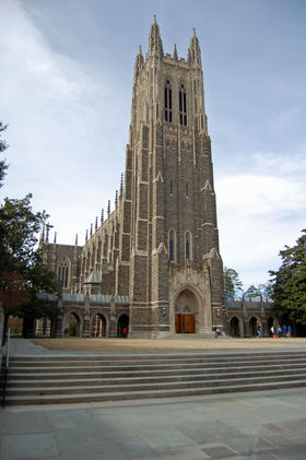 Duke Chapel, Duke University, Durham