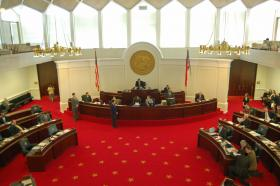 State Senate chamber