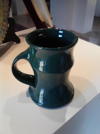 A sample mug from Will McCanless of McCanless Pottery