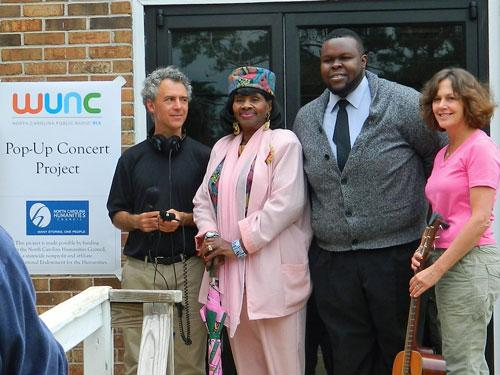 David Schulman, Mother Creecy, Tshombe Selby, Barbara Garrity-Blake