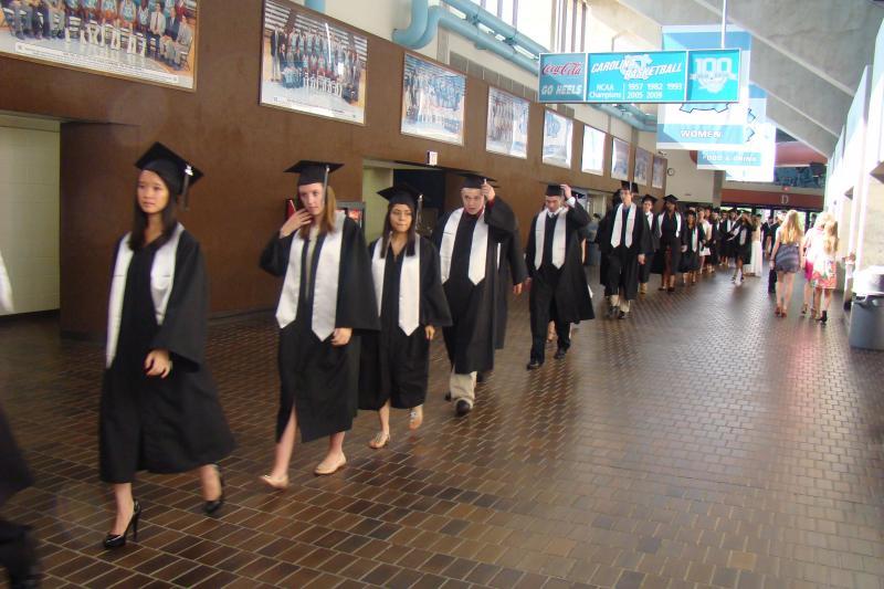 2012 Graduation at Chapel Hill