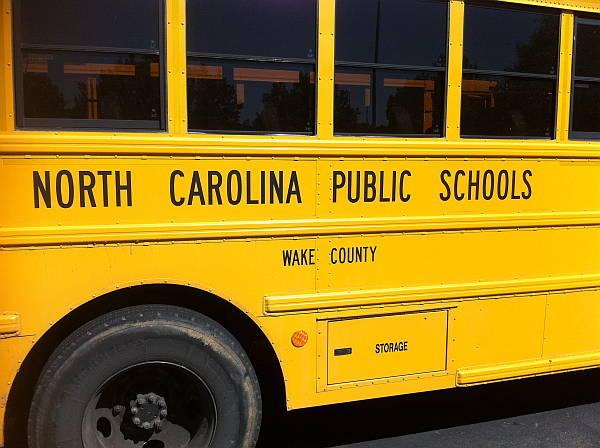 Wake County School Bus