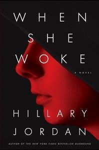 Book cover, ''When She Woke''