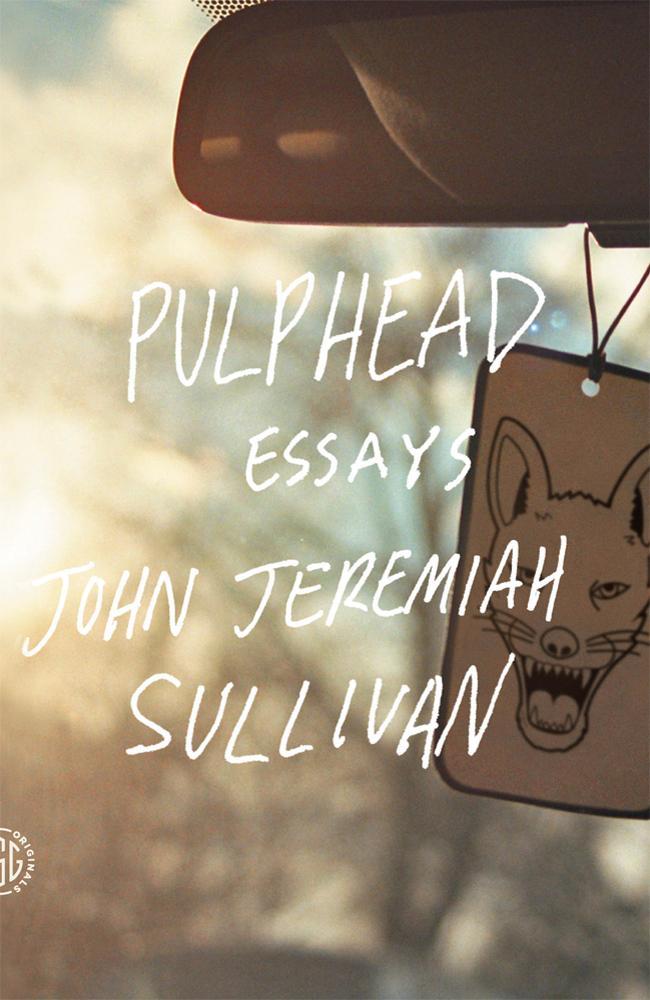 Book cover, ''Pulphead''