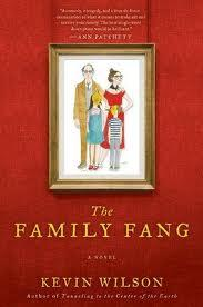 Book cover, ''The Family Fang''