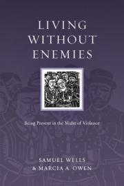 Book cover, ''Living Without Enemies''