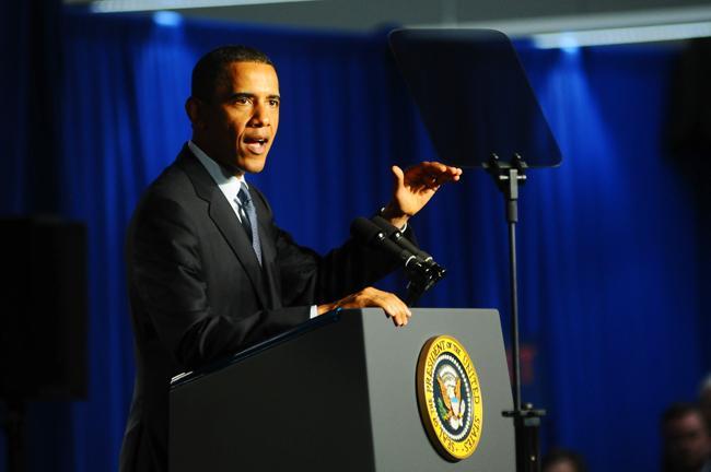 President Obama at Cree