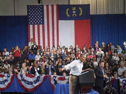 President Obama at Guilford Technical Community College
