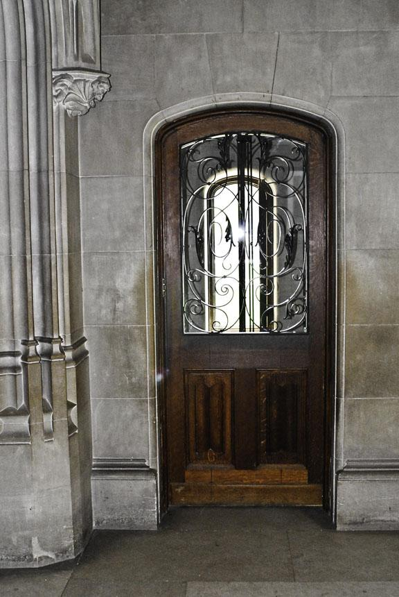 George Vanderbilt was an early adopter of modern technology. This is one of two electric elevators in the house.