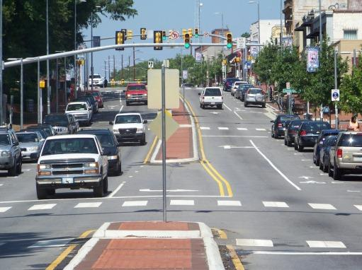 picture of Hillsborough Street, Raleigh