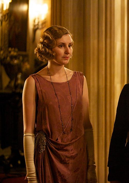 Edith Crawley, the middle daughter of Downton Abbey