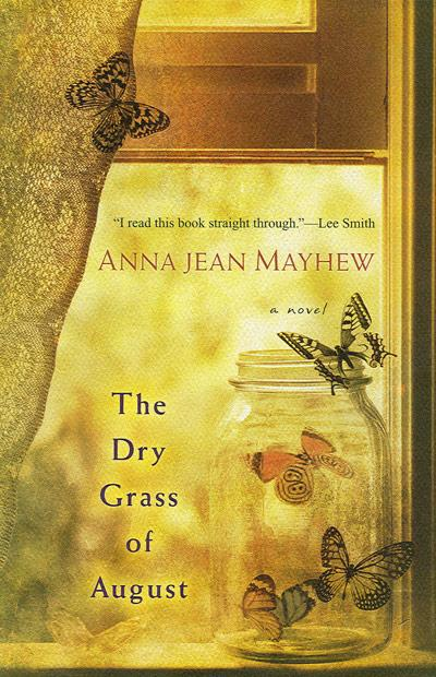 Book cover, 'The Dry Grass of August'