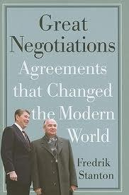 Book cover, Great Negotiations