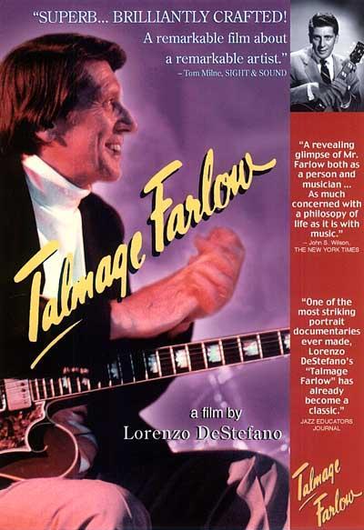 Film poster ''Talmage Farlow'' by Lorenzo DeStefano