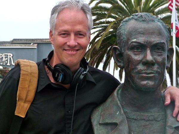 John Beiwen with John Steinbeck