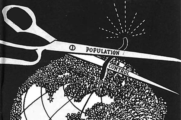 Illustration from a 1954 brochure, ''The Population Bomb''