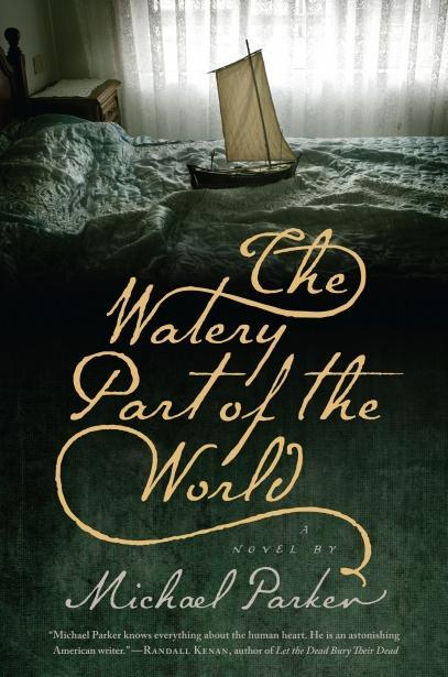 Book cover, ''The Watery Part of the World''