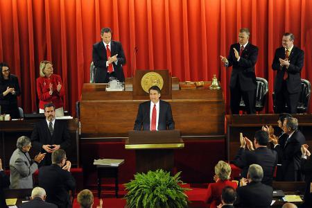 Governor Pat McCrory delivers his State of the State address