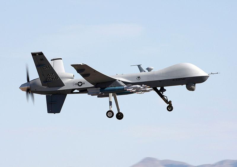 A MQ-9 Reaper drone.
