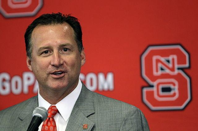 NC State basketball coach Mark Gottfried