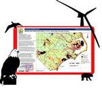 A new map detailing high-risk habitat areas for land-based wind energy projects has been posted online by the U.S. Fish and Wildlife Service
