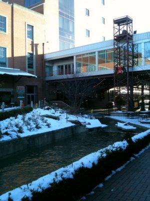 Melting Snow, American Tobacco Campus
