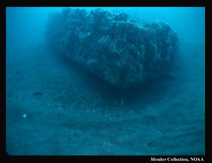 The wreck of the Civil War vessel USS Monitor lies off the coast of Cape Hatteras. Friday marks 150 years to the day since it sank.