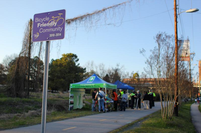 The League of American Bicyclists named Durham a bicycle friendly community in 2010.
