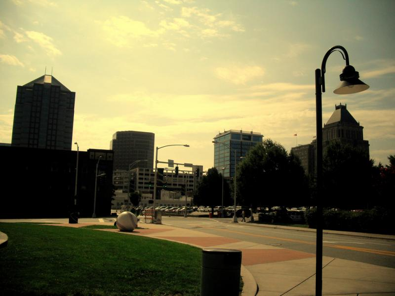 Greensboro received an F-rating for air quality.