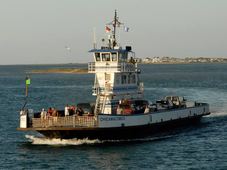 Chicamacomico Ferry