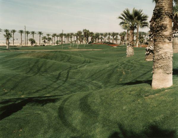 Golf Course at Mariott Motel Desert Springs Resort at Palm Desert California, 1987
