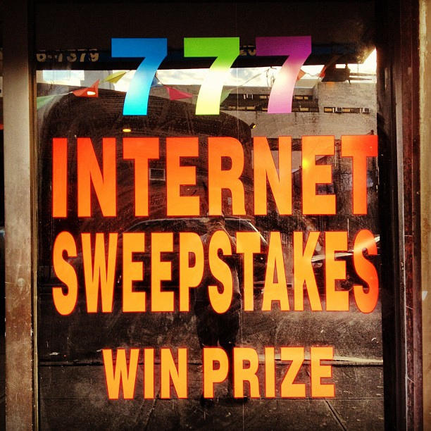 internet sweepstakes, gambling,