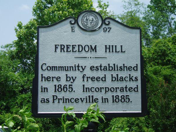 Princeville marker