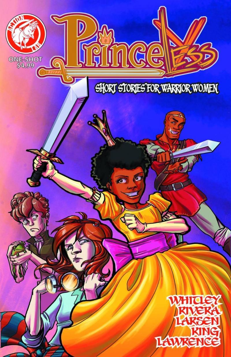 PrinceLess: Short Stories For Warrior Women, #1