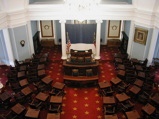 photo of the North Carolina Senate