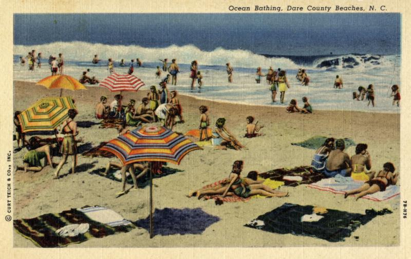 A postcard from Dare County Beaches