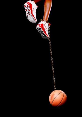Basketball and Chain, 2003 part of the collection Branded