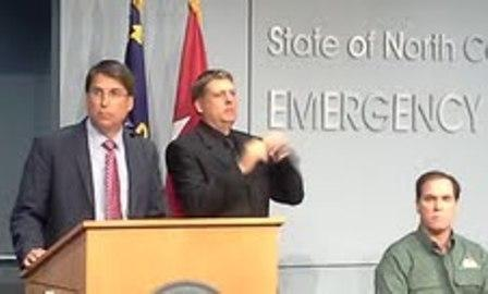Pat McCrory and Kieran Shanahan