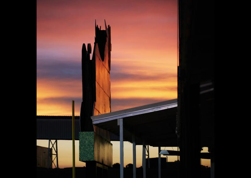 Sunset at Durham Bulls Stadium
