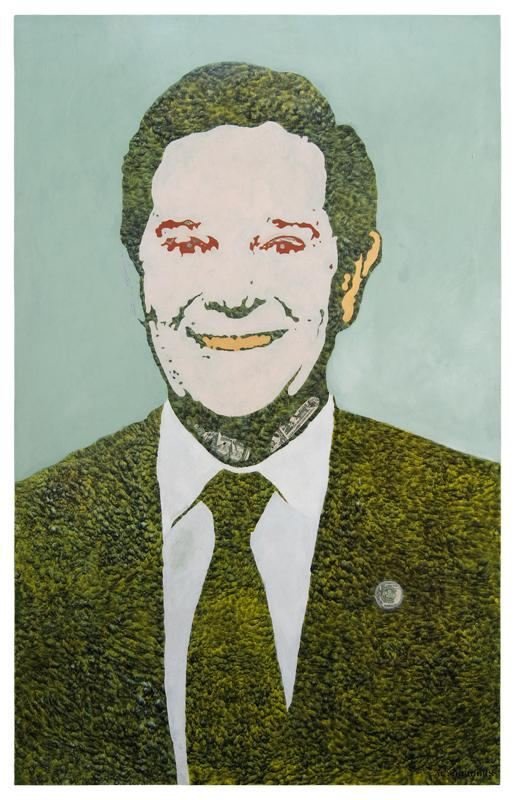 Image of Tom Delay from the series Culture of Corruption.
