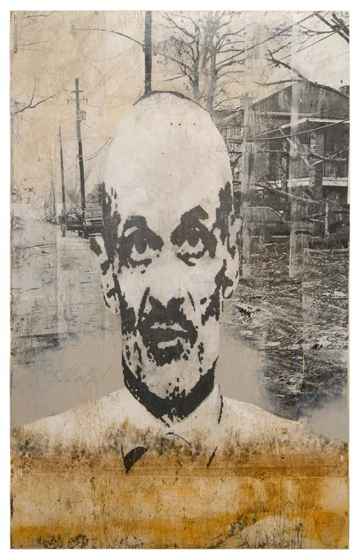 Image of Michael Chertoff from the series Culture of Corruption.