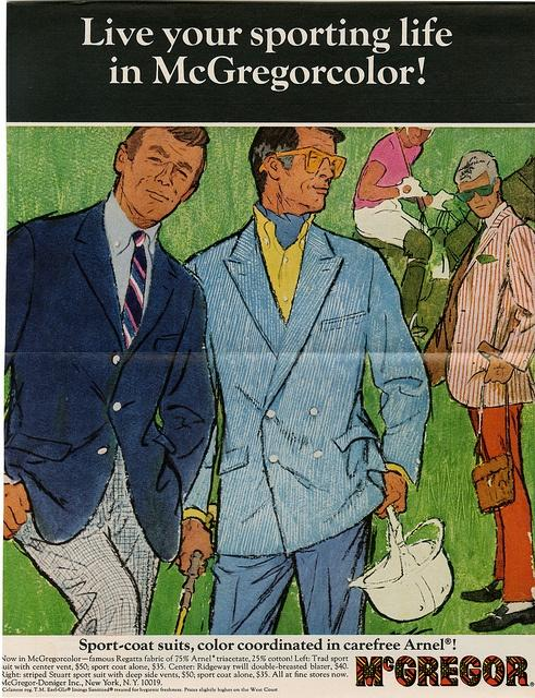 An ad for sports coats from 1968.