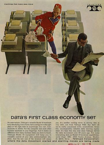 A Teletype Corporation ad from 1968.