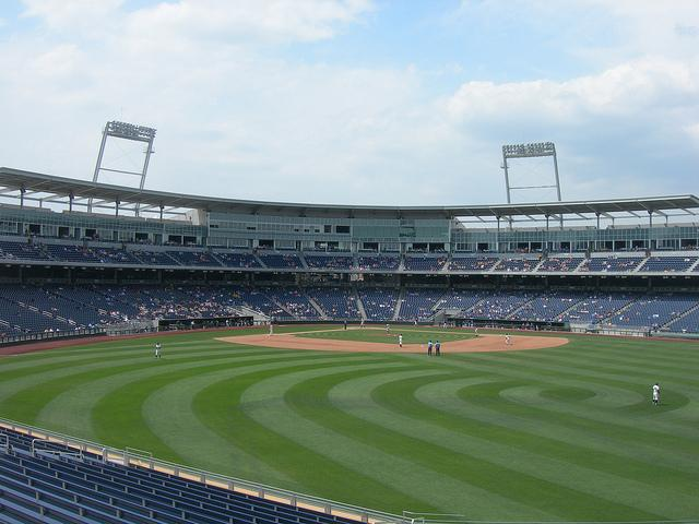 TD Ameritrade Stadium, the site of the College World Series in Omaha