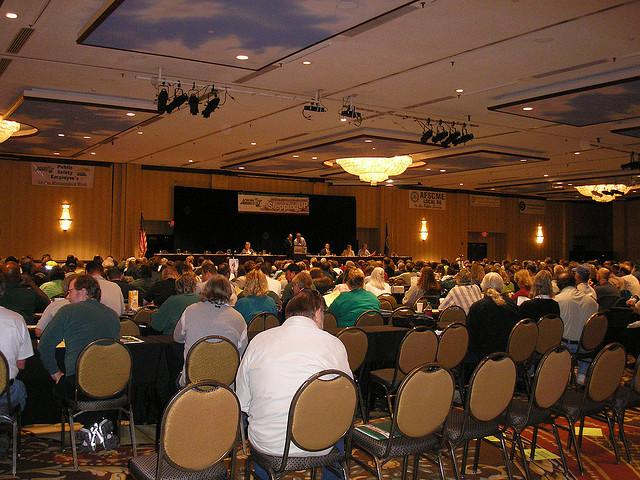 Picture of a convention