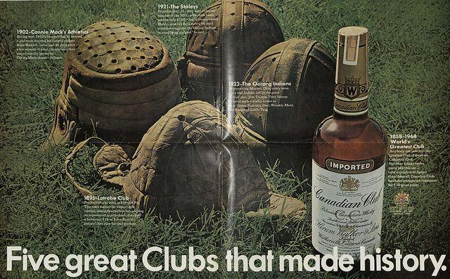 An ad for Canadian Club Whisky from the Hartman Center's archives.